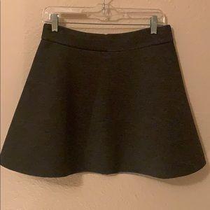 Charcoal grey skirt
